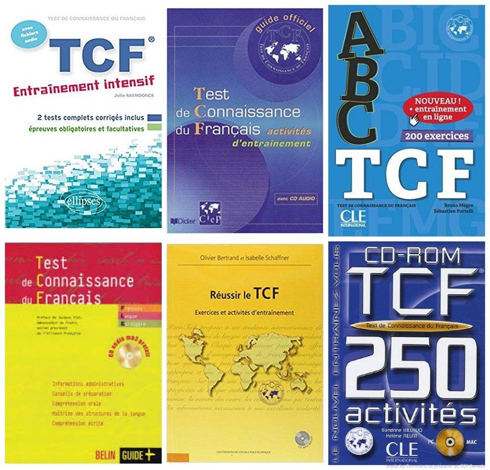 TCF Canada livres de préparation