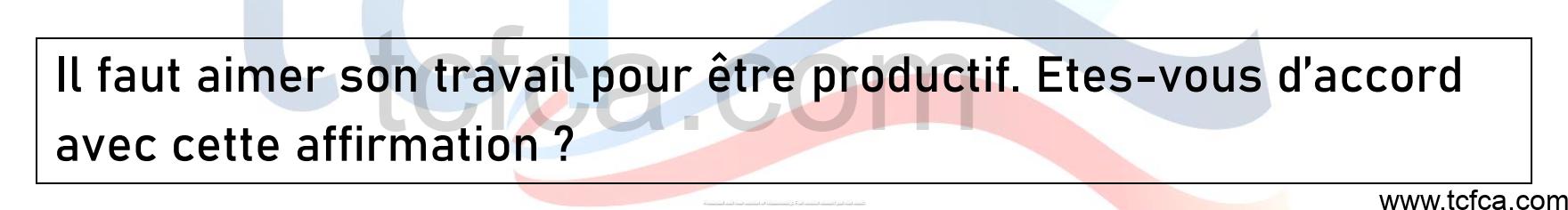 TCF Canada Expression Orale Tâche 3