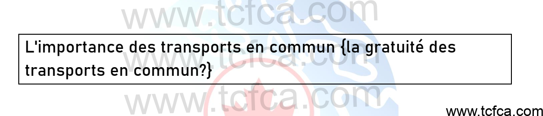 TCF Canada Expression Orale Tâche 3: