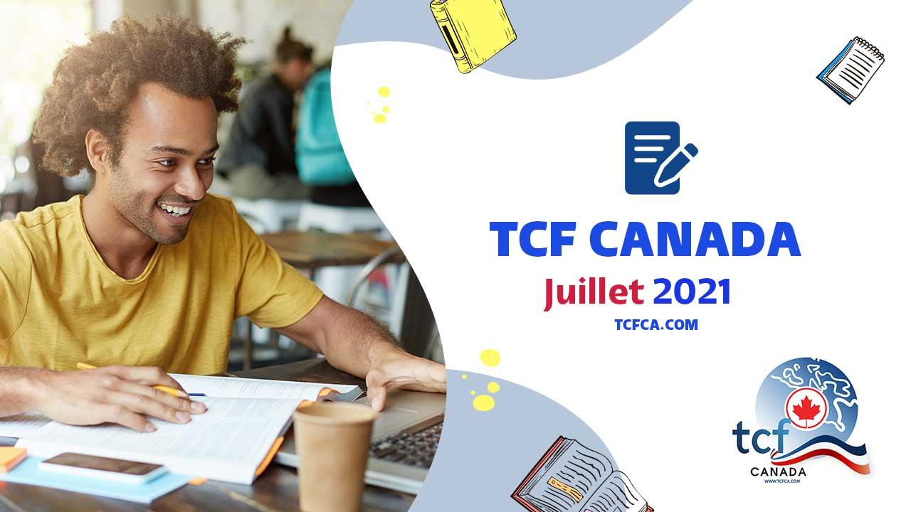 TCF Canada Expression Orale juillet 2021