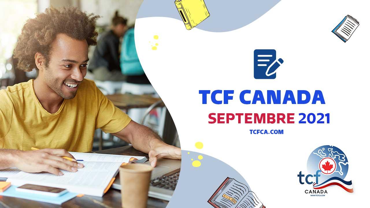 TCF Canada Expression Orale Septembre 2021